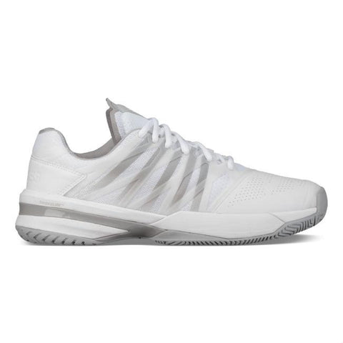 K-Swiss Ultrashot Men's Tennis Shoe (White/High Rise)