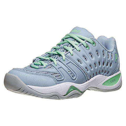 Prince T22 Women's Tennis Shoe (Blue/Mint)