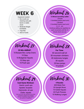 6 Week Home Workout Program