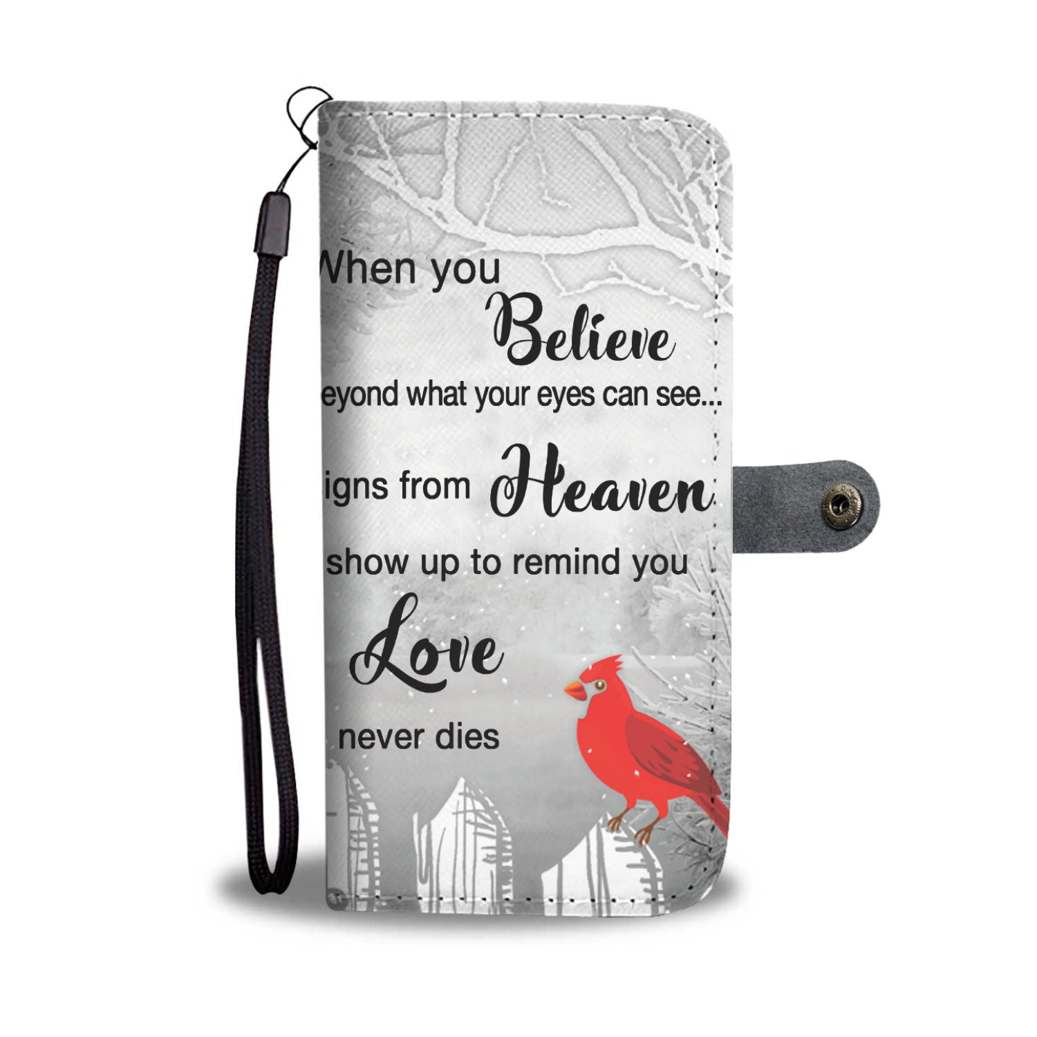 .Cardinals Appear Wallet Phone Case