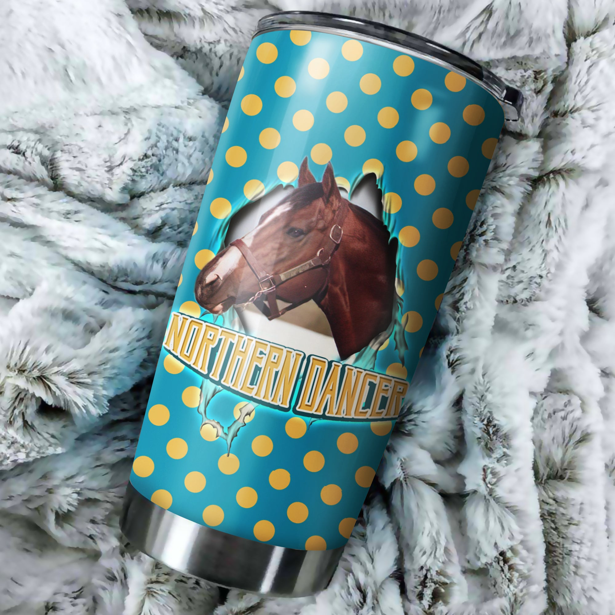 Northern Dancer Horse Tumbler