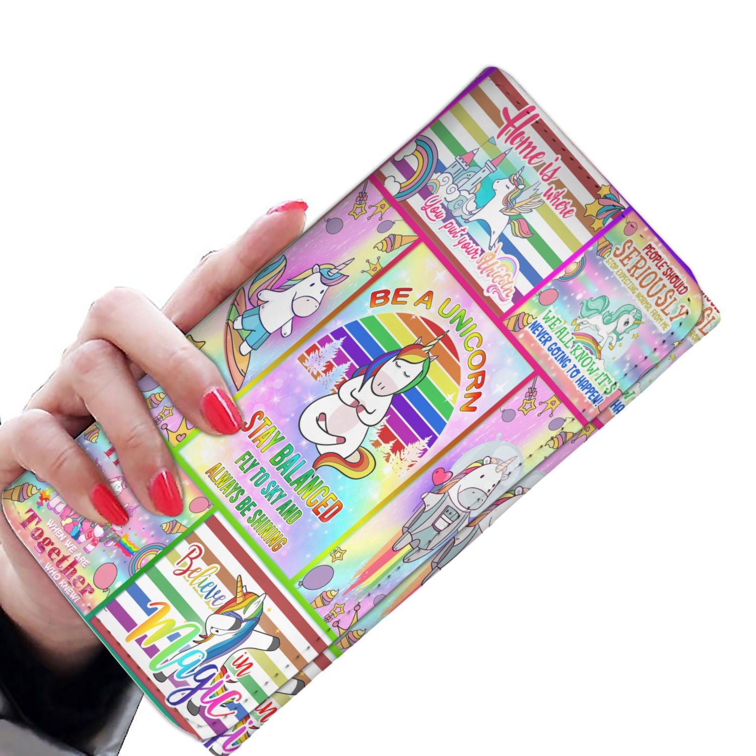 Be a Unicorn Women Wallet