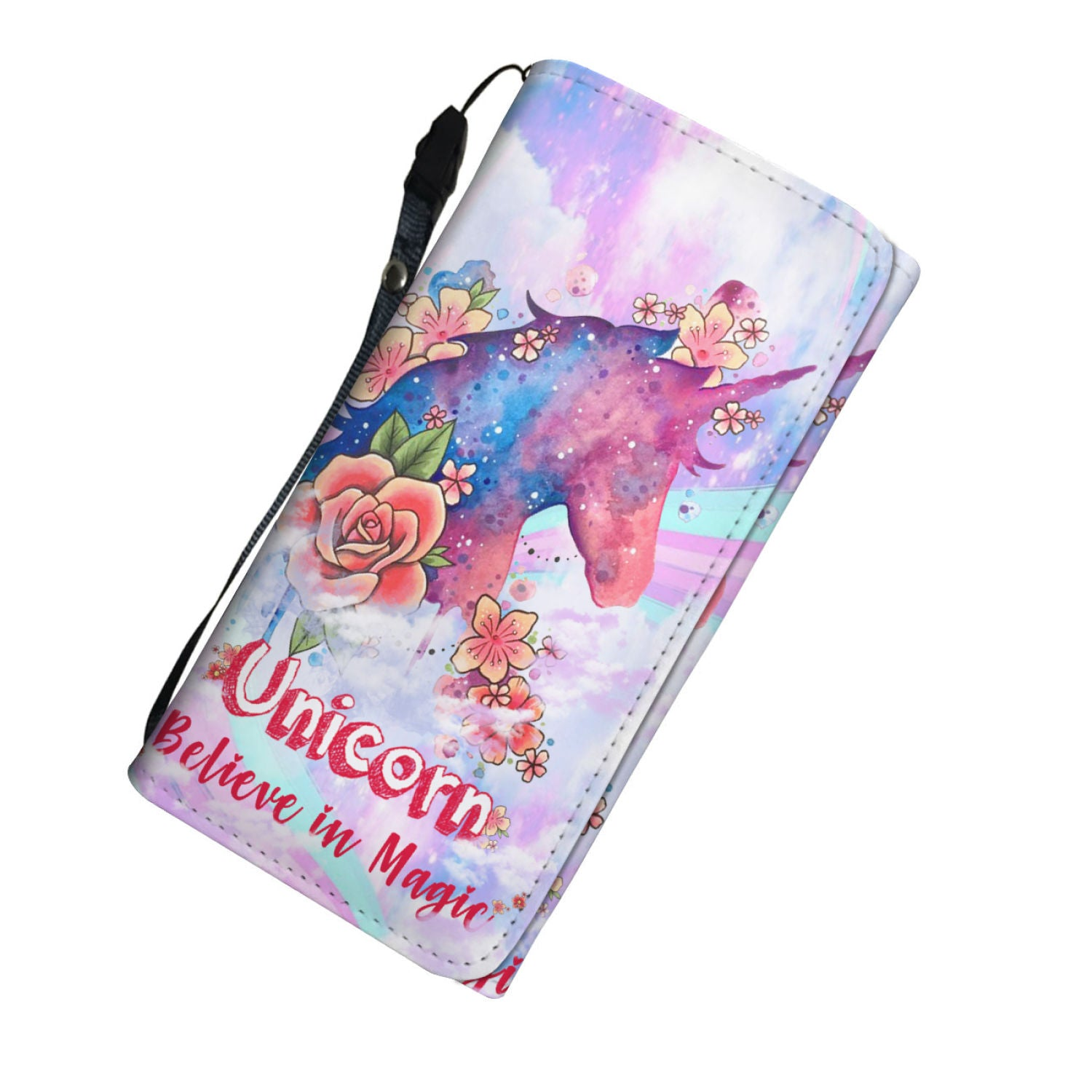 Pink Unicorn Women Wallet
