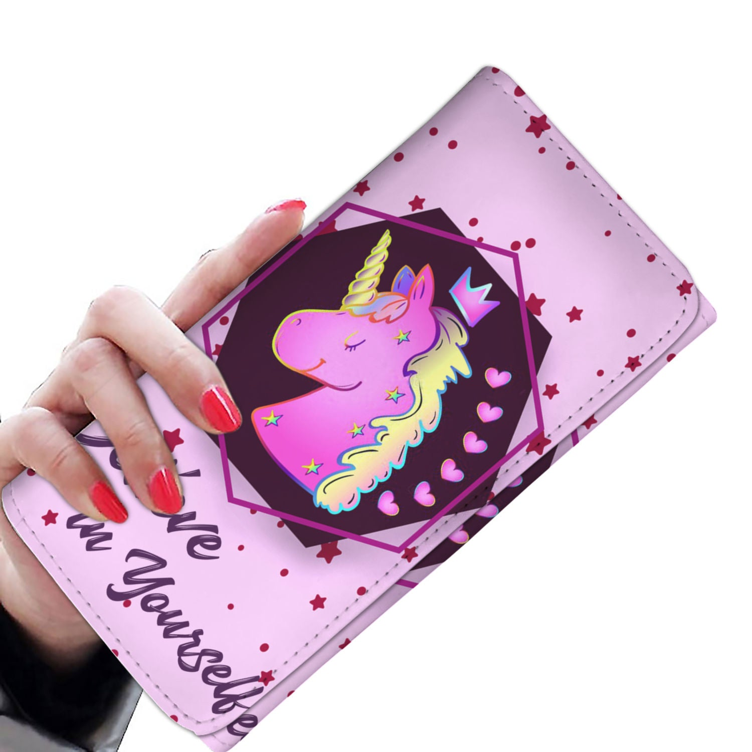 Unicorn Believe In Yourself Wallet