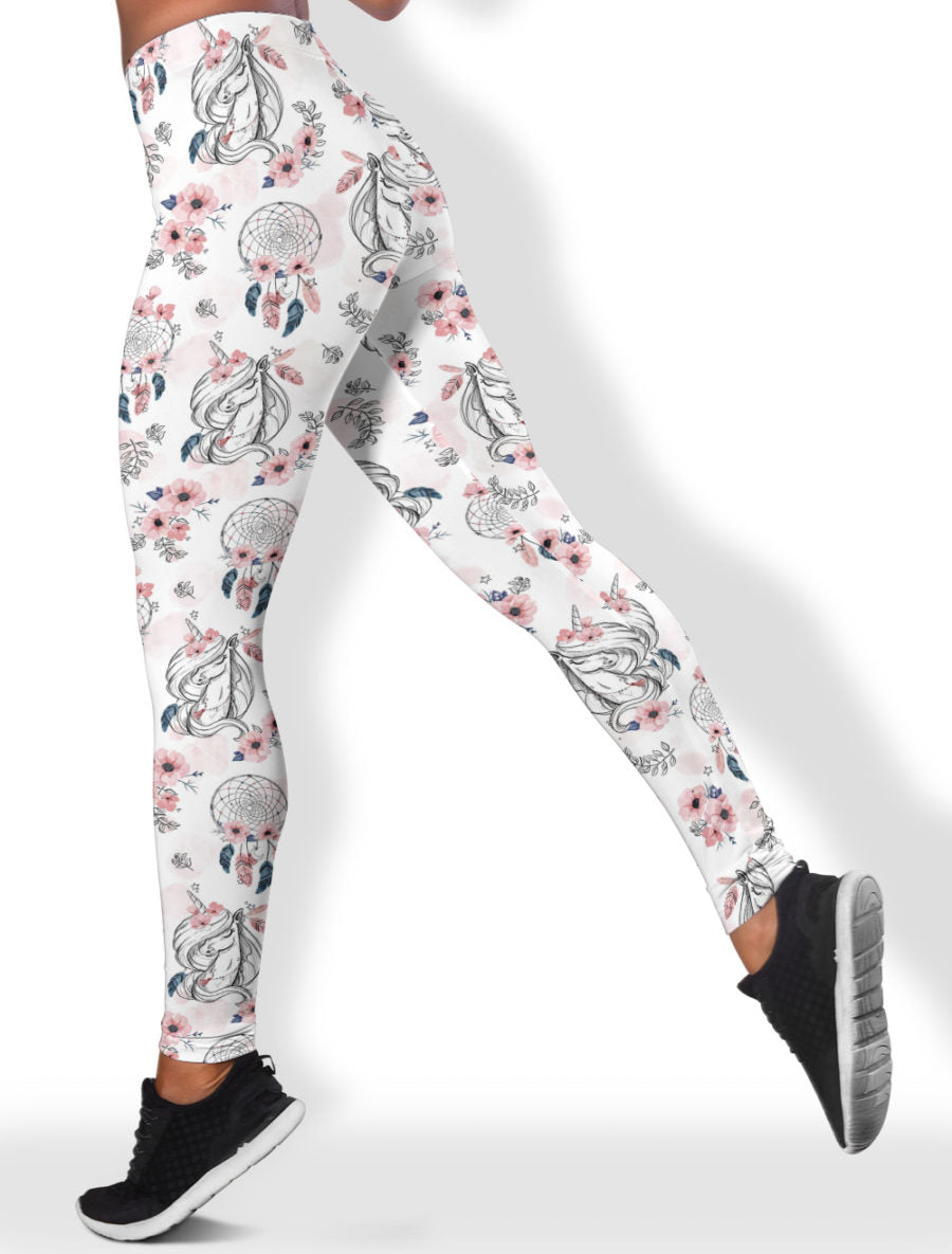 Catcher Unicorn White Legging
