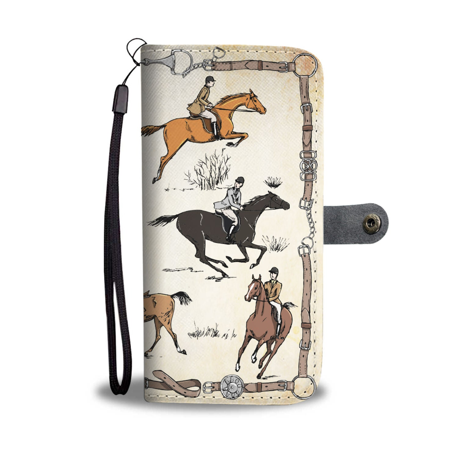 AWESOME WALLET CASE HORSE