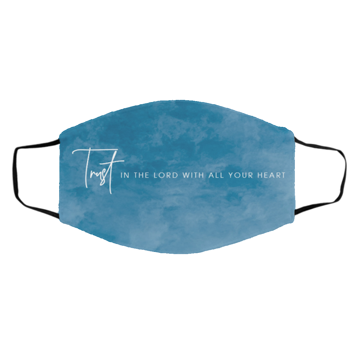 Trust in the Lord Cloth Face Mask