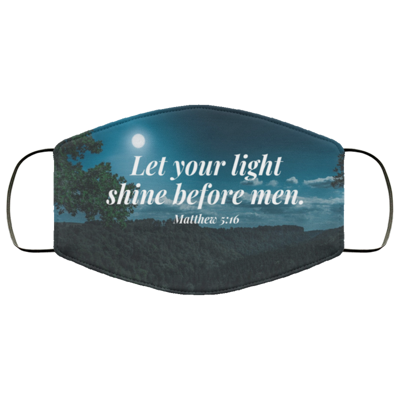 Your Light shine Face Mask