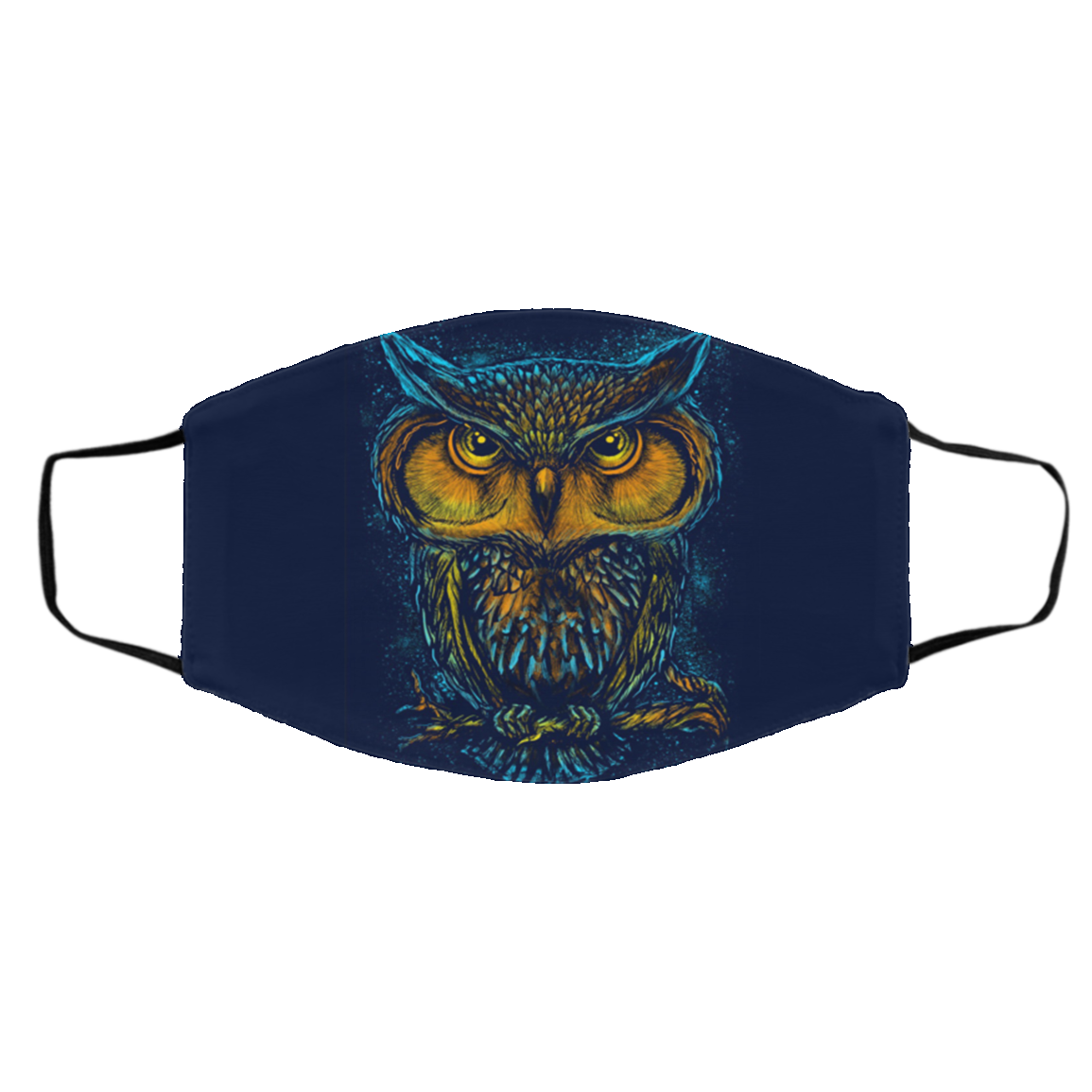 Owl Native Cloth Face Masks