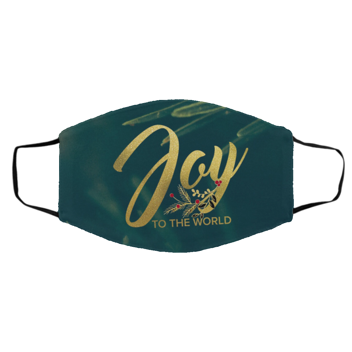Joy to The World Face Mask