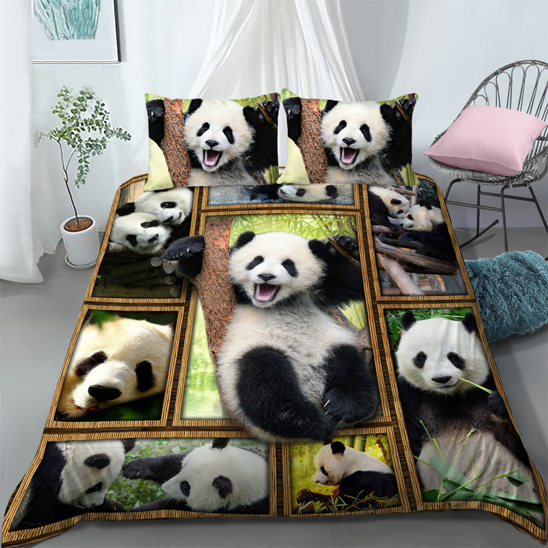 Panda - Bedding Set