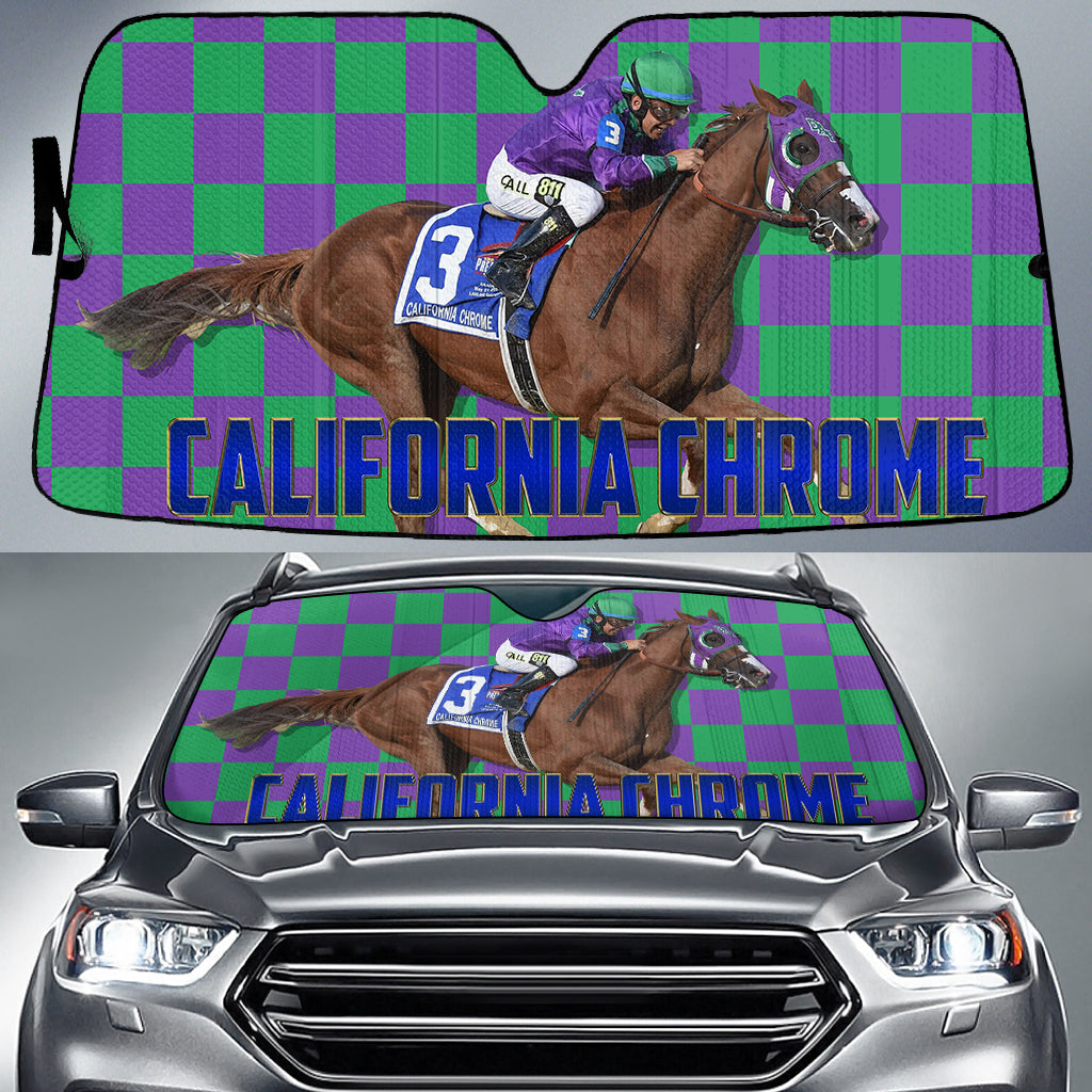 California Chrome Auto Sun Shade