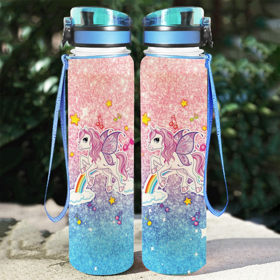Unicorn Magic - Water Tracker Bottle