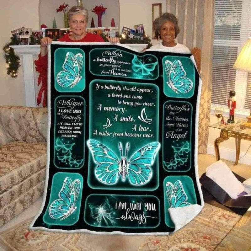 A Memory Butterfly Silver Blanket