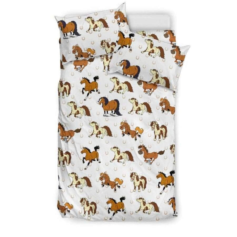 All Horse Bedding Set