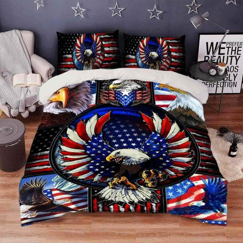 American Eagle Bedding Set
