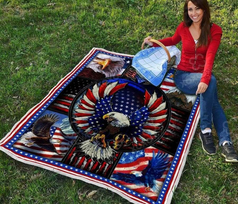 American Eagle Quilt - Proud US