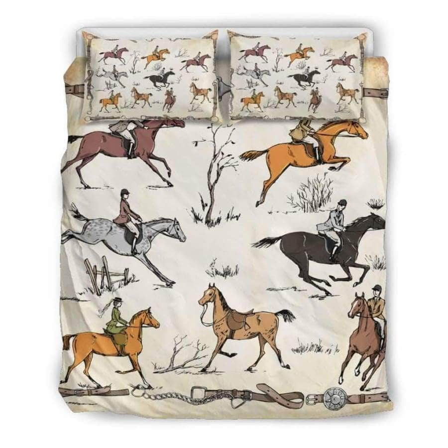 AWESOME BEDDING SET - HORSE