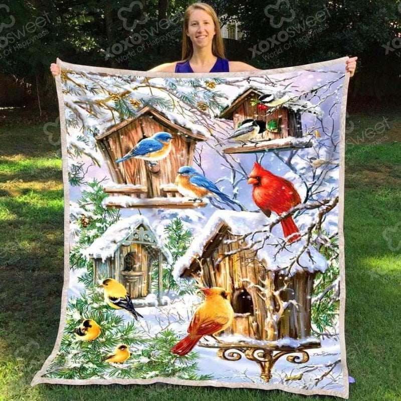 Awesome Birds - Blanket