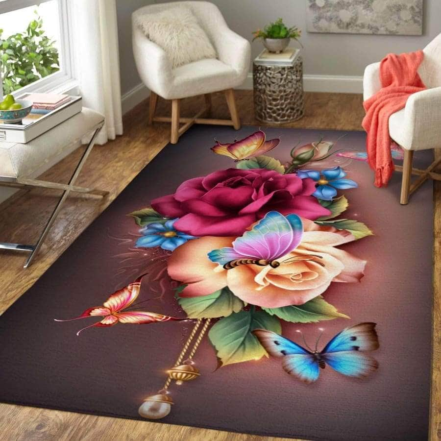 Awesome Butterfly - Area Rug