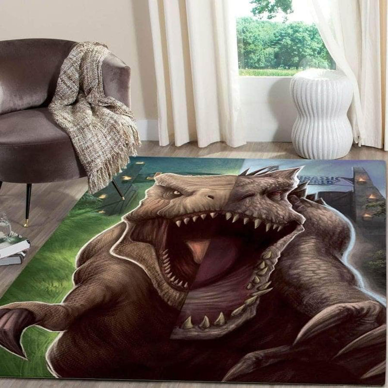 Awesome Dinosaur - Area Rug