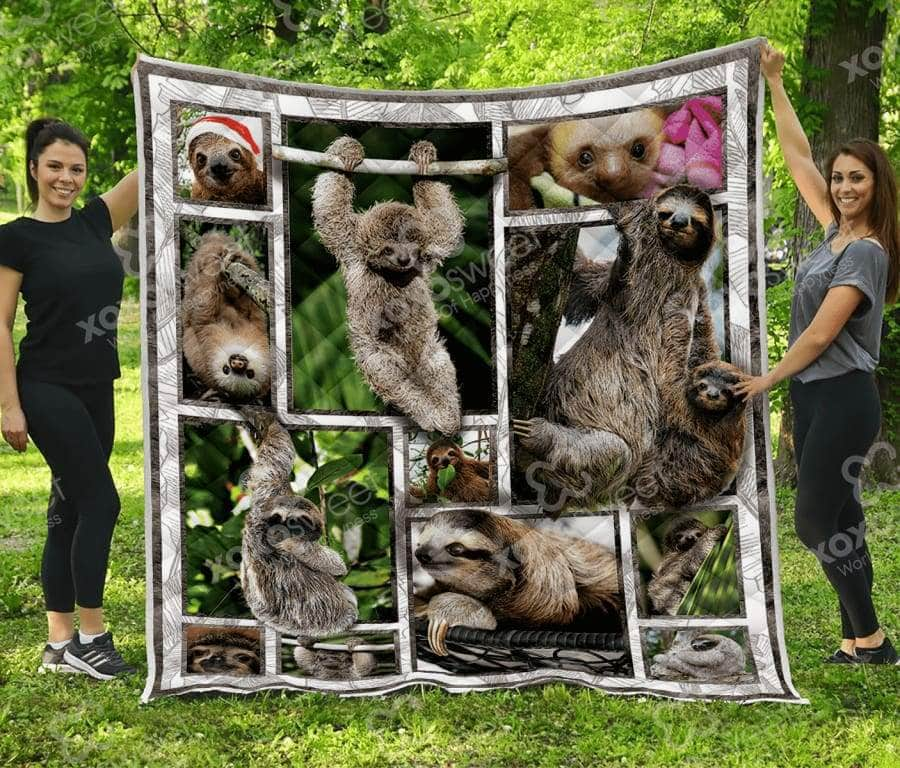 Baby Sloth Quilt
