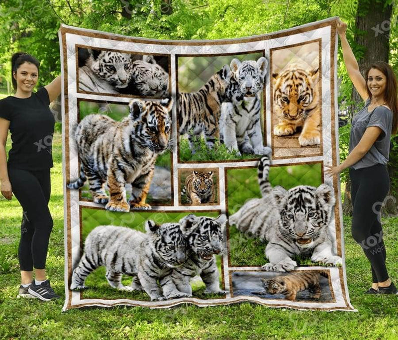 Baby Tiger Quilt