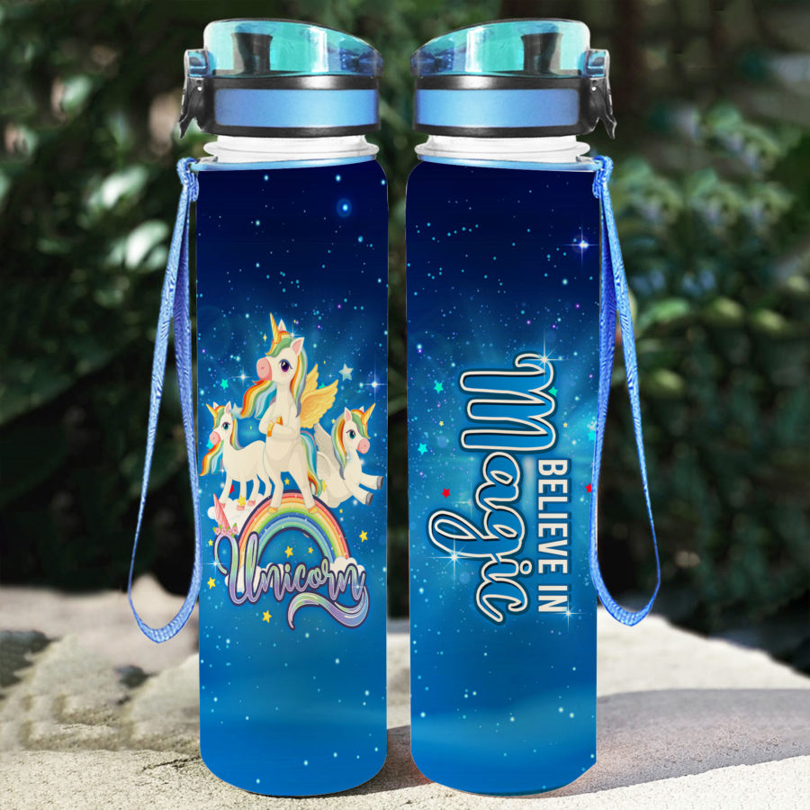 Unicorn Magical - Water Tracker Bottle