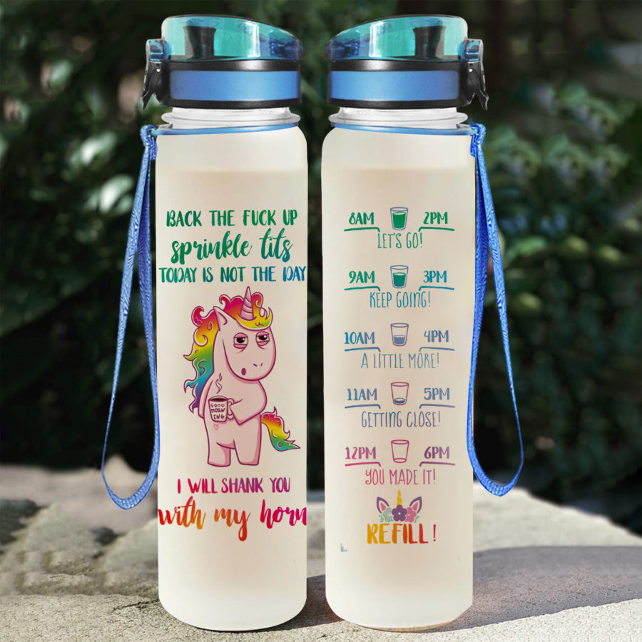 Unicorn - Water Tracker Bottle