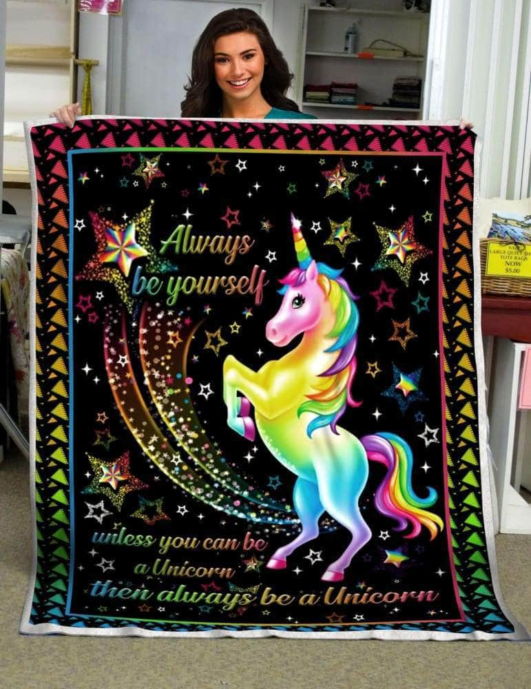 Be Unicorn- Premium Blanket