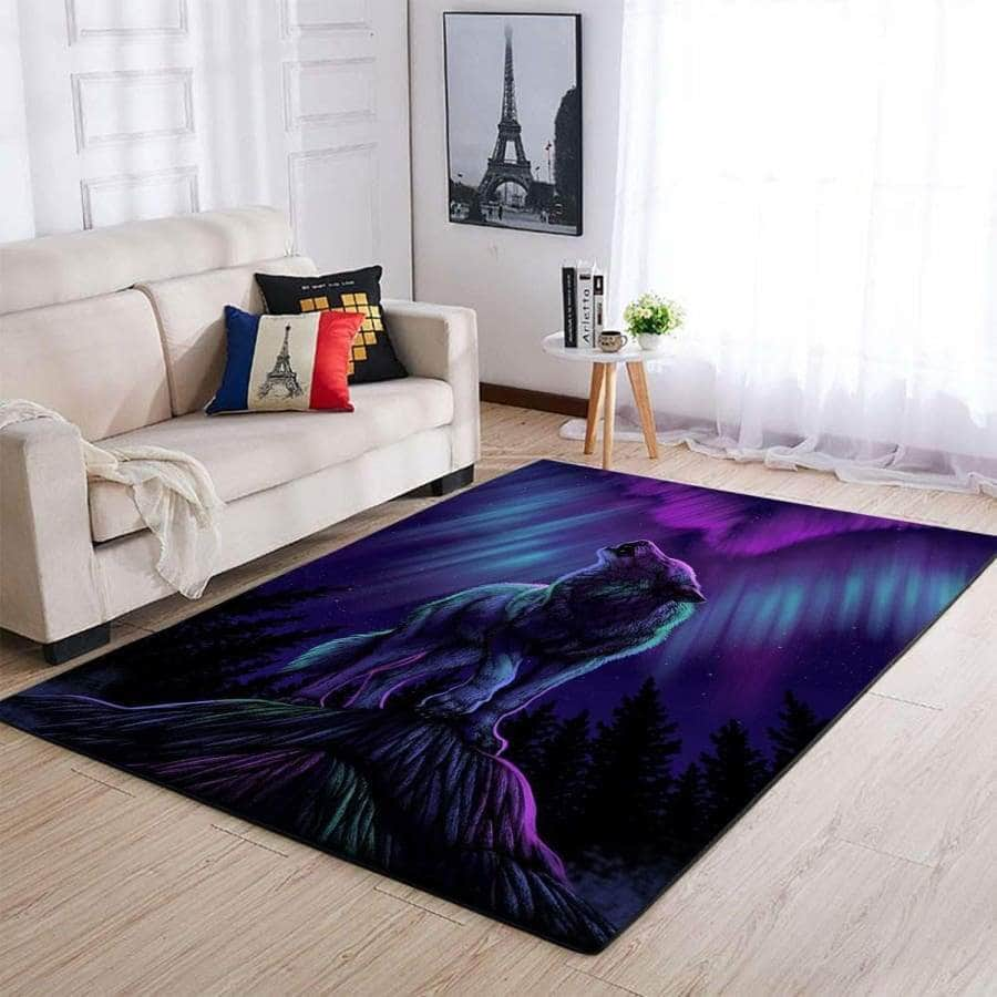 Beautiful Wolf - Rug