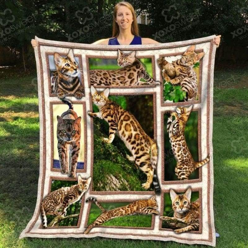 Bengal Cat Blanket