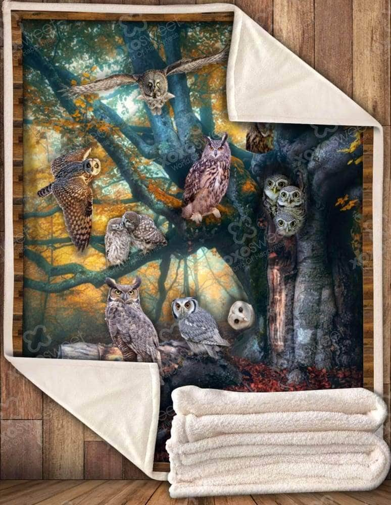 Best Seller Owl Blanket