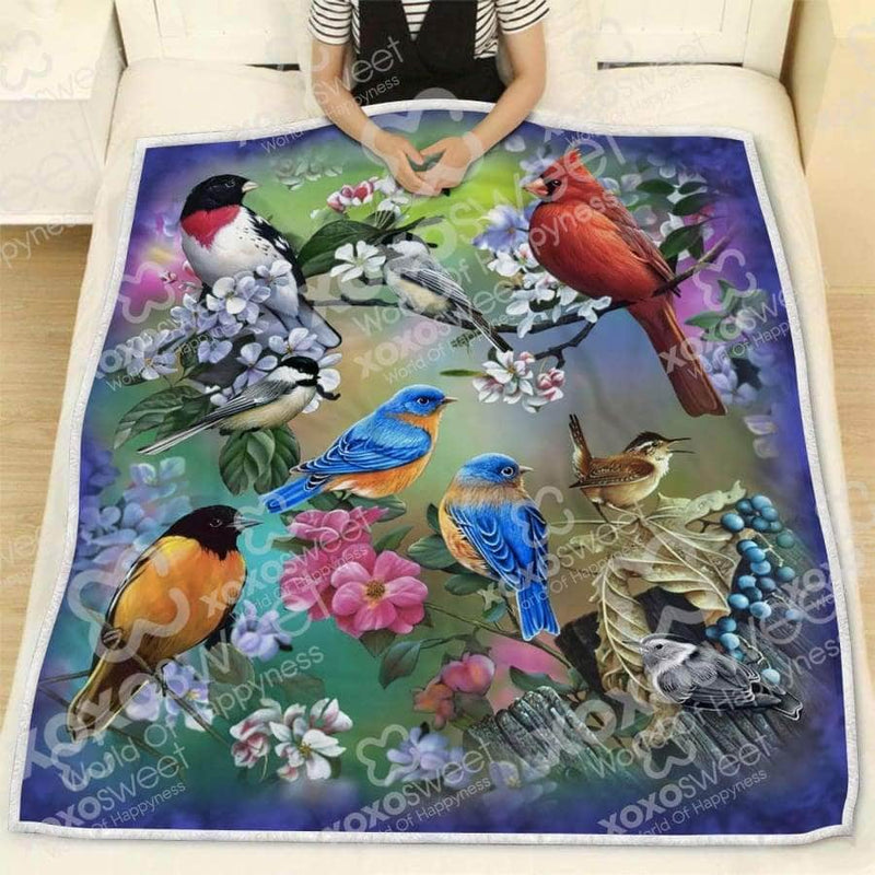 Birds Family Blanket