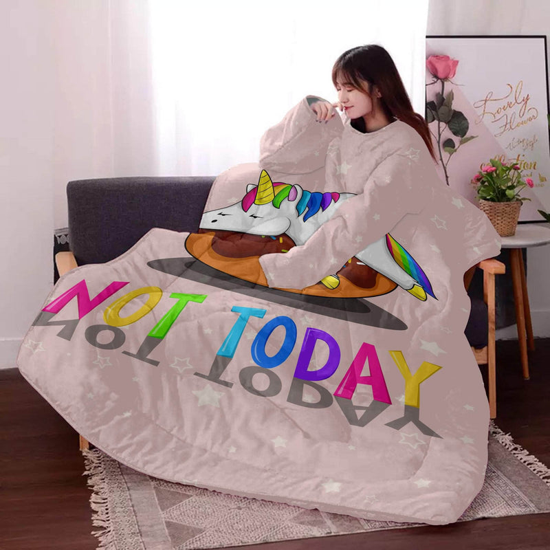 Not Today - Lazy Quilt