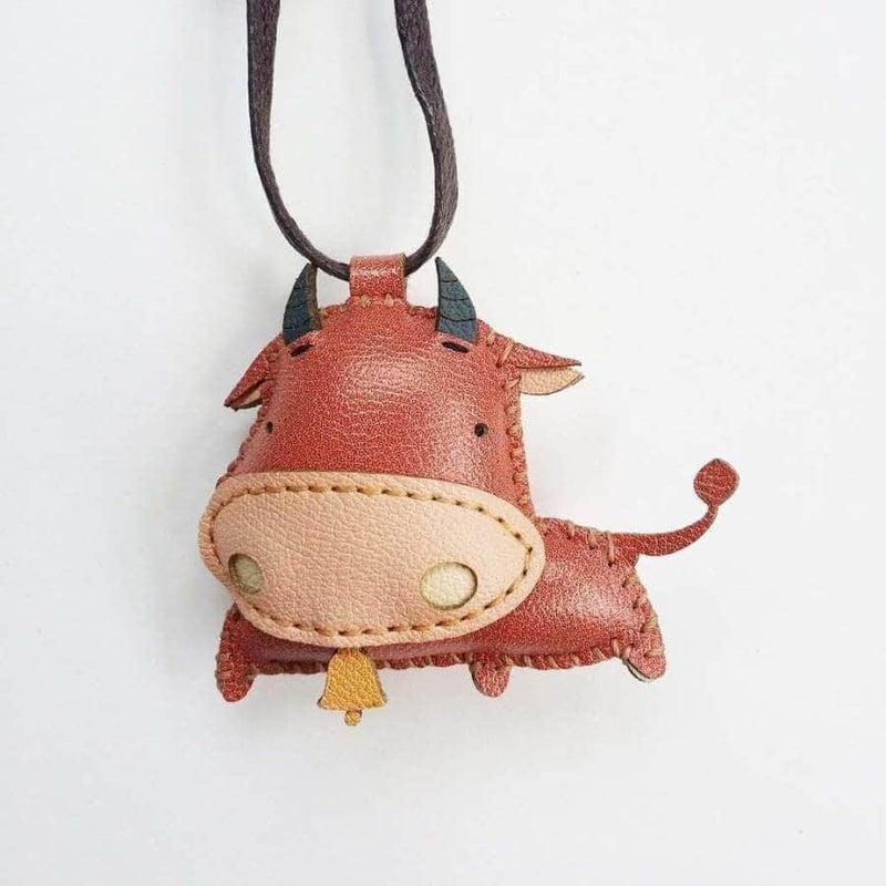 BUFFALO LEATHER CHARM