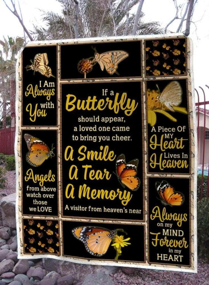 Butterfly A Smile A Tear A Memory