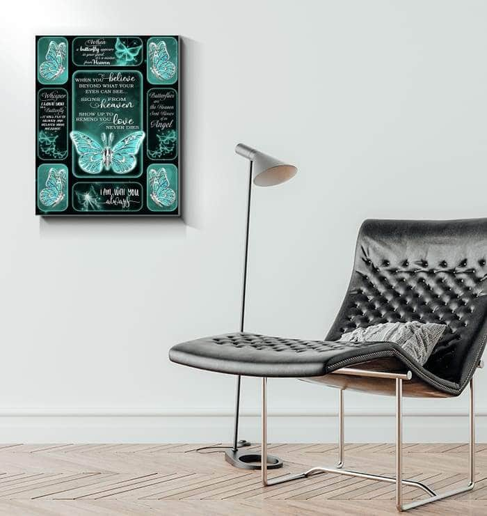 BUTTERFLY APPEAR CANVAS