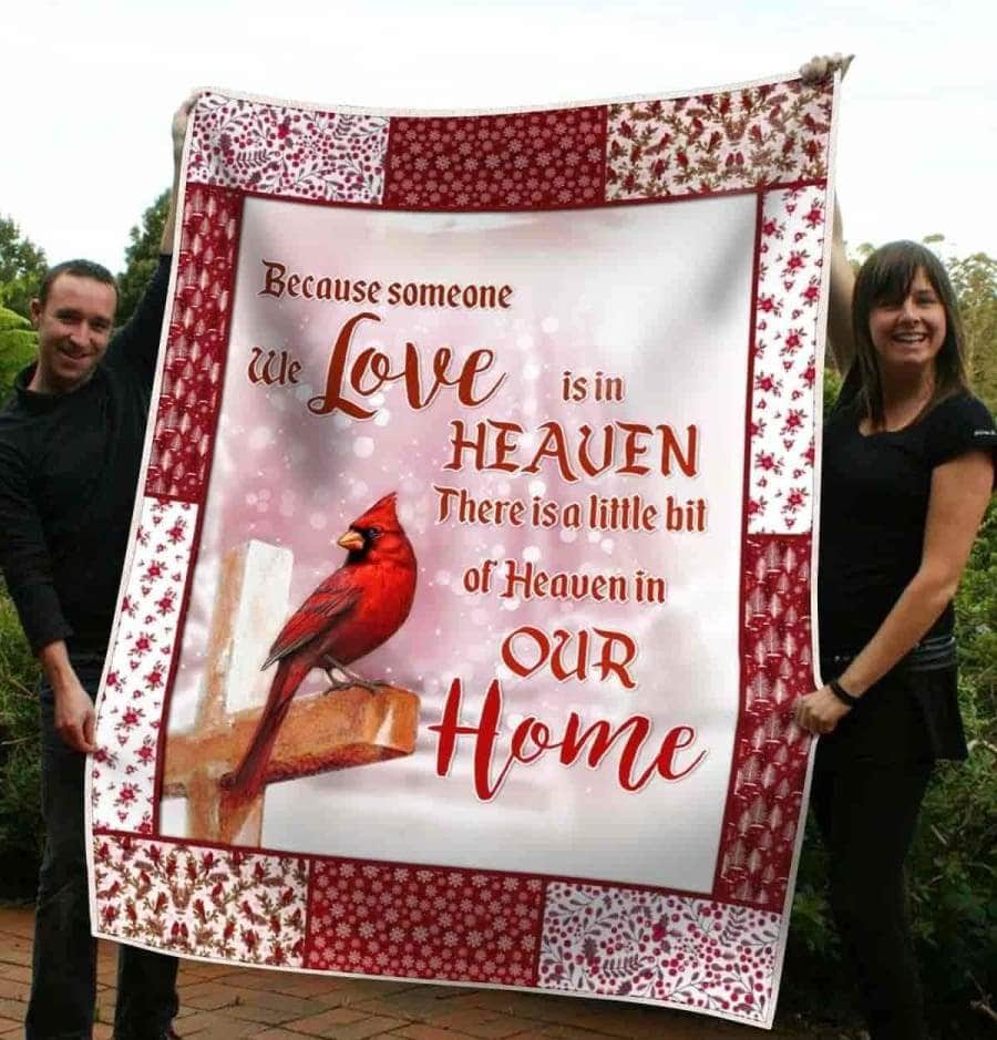 Cardinal in Heaven - Blanket