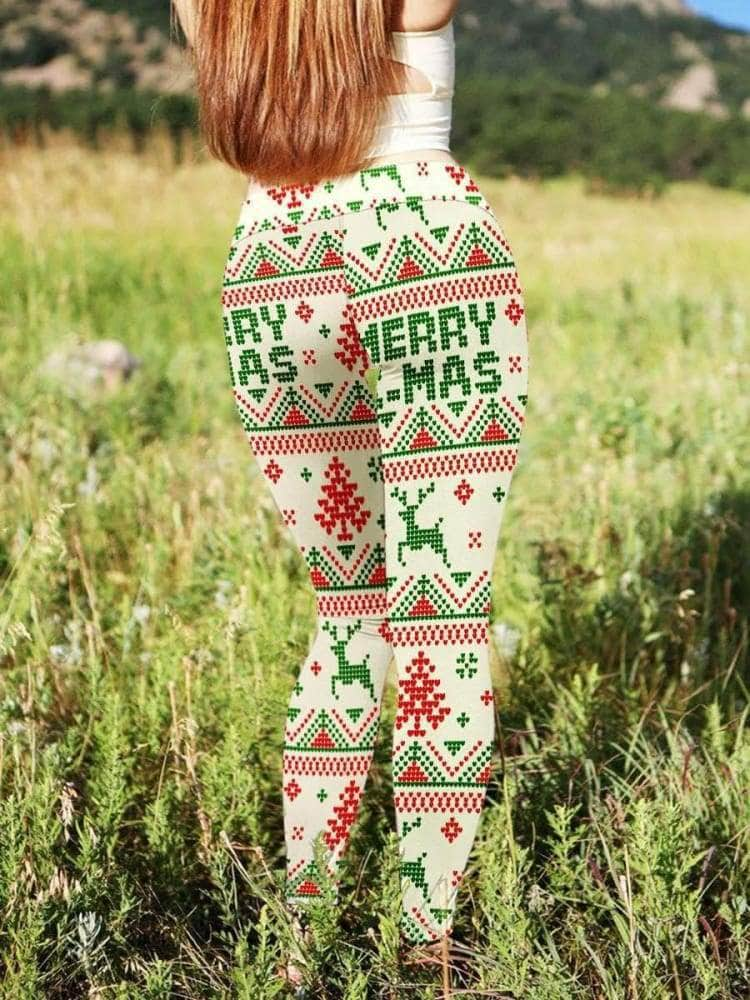 Christmas Snow 3D Legging