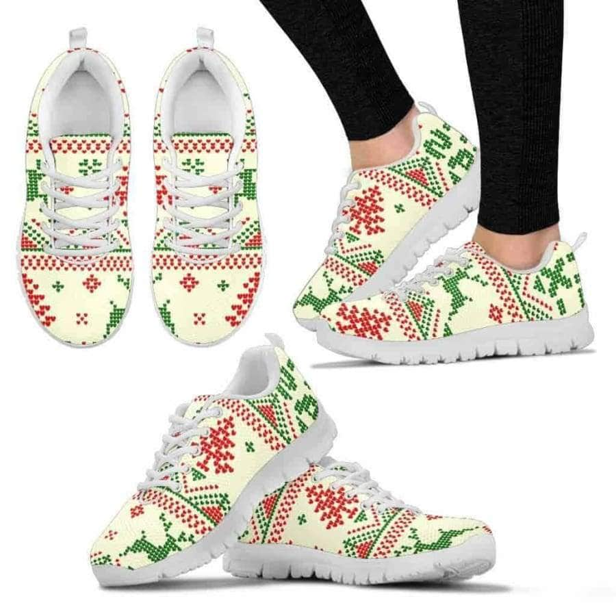 Christmas Snow - Women's Sneakers