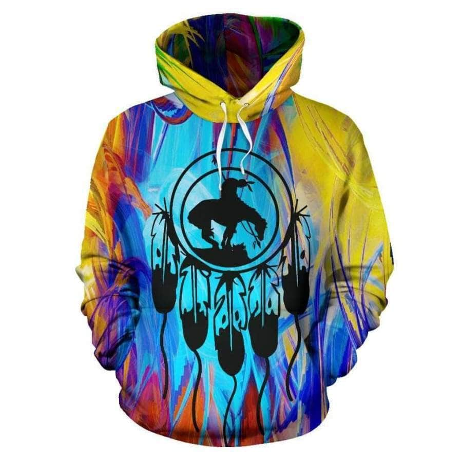Color Horse All Over Hoodie