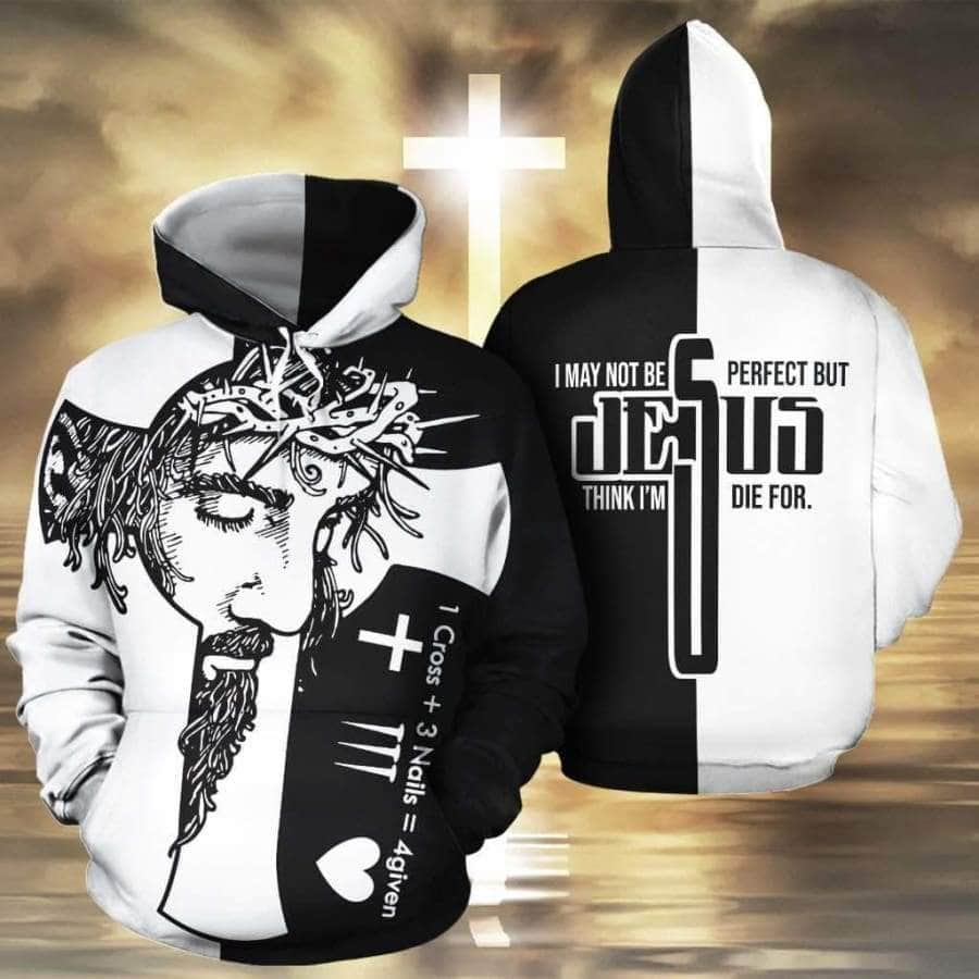 Cross+Nails=4given - Hoodie