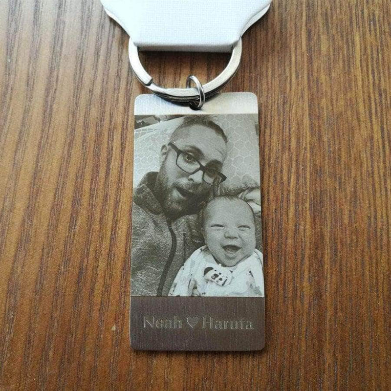 Custom Personal ID Tag Stainless steel Key Chains