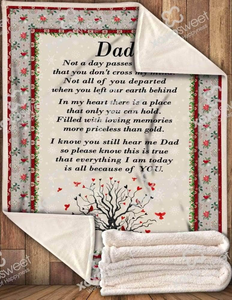 Dad Missing you - Blanket