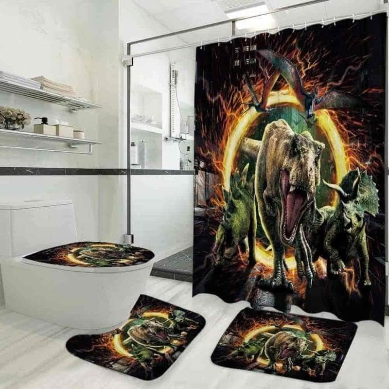 Dinosaur - Bathroom Set