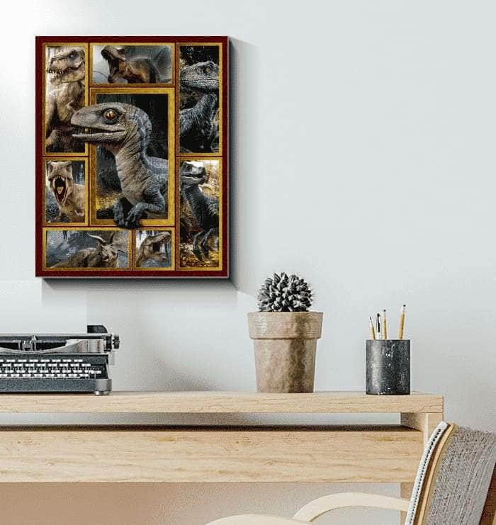 DINOSAUR CANVAS
