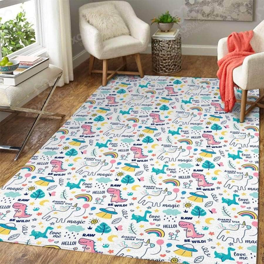Dinosaur Cartoon - Rug