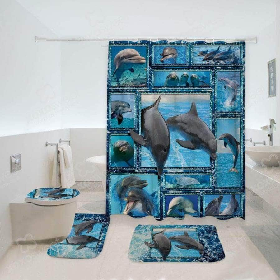 Dolphin Bathroom Set