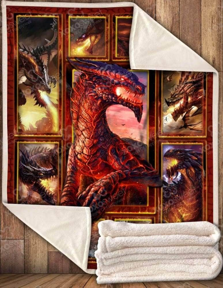 Dragon Fire - Blanket